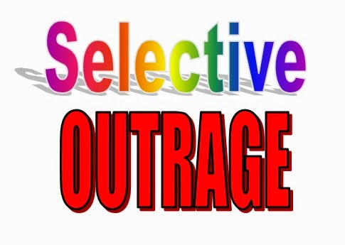 Image result for selective outrage